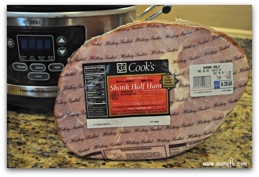 how to make baked ham in a crockpot