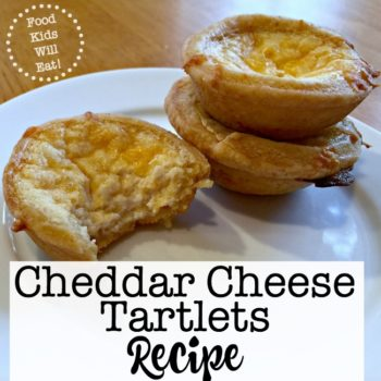 Cheddar Cheese Tartlets Recipe