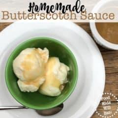 Homemade Butterscotch Sauce Recipe