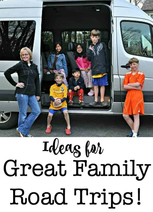 This page is packed with great ideas for family road trips! Lots of tips on how to pack and plan for a family vacation, and some great suggestions for road trip destinations. It's time to start planning that family vacation!