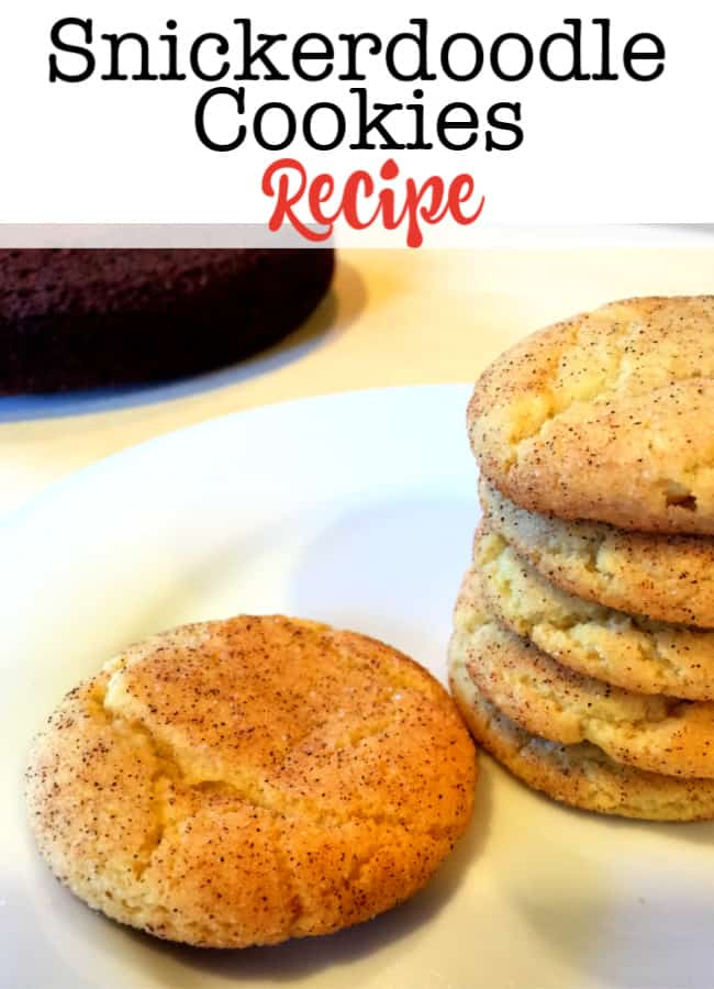 This snickerdoodle cookies recipe has been in my family for a long time, and it is the perfect blend of sugar cookie and cinnamon-sugar topping that makes into a delicious crisp holiday cookie, but can easily be transformed into a soft cookie too!