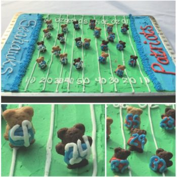 Superbowl Texas Sheet Cake!
