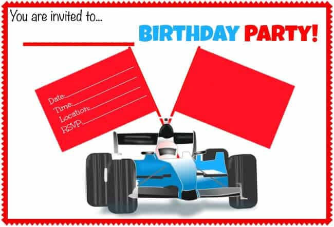 Race Car Birthday Party {A Great 9 Year Old Birthday Party ...