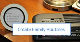 Create Family Routines Sidebar