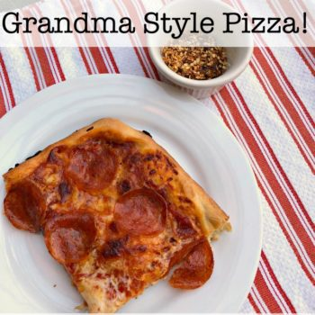 Grandma Style Pizza (You'll Never Order Delivery Pizza Again!)
