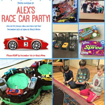 Race Car Birthday Party {Perfect for Tweens!}