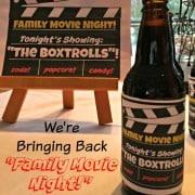 We're Bringing Back Family Movie Night!