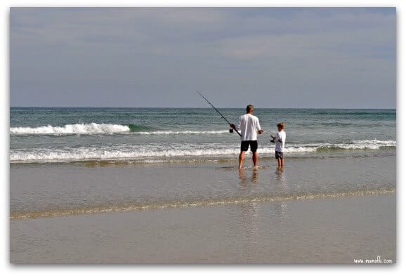 Things to Do in New Smyrna Beach: fish from the beach