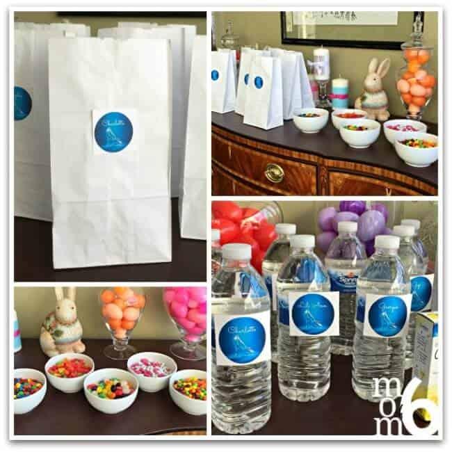 Cinderella Party snack bags
