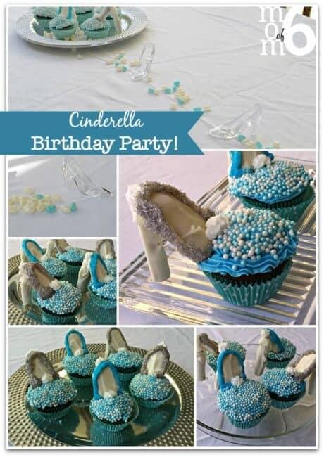 Cinderella Party Cupcakes