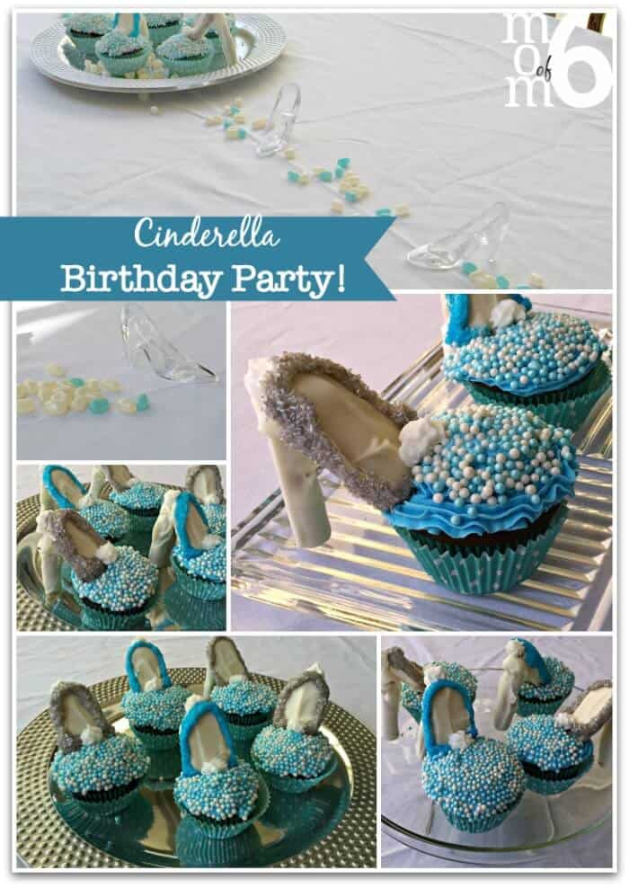 Cinderella Birthday Party Ideas Momof6