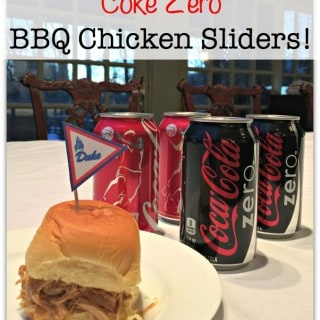 It's Time to Get Ready for the NCAA® Final Four Showdown with Coke Zero BBQ Chicken Sliders!