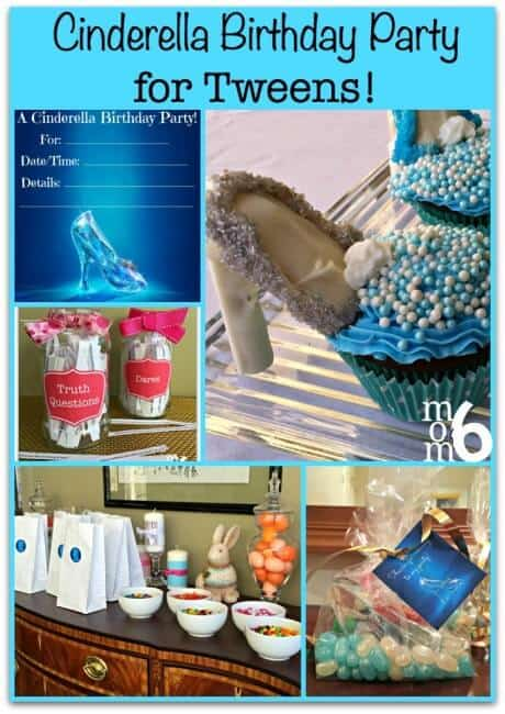 With the release of the new Disney Cinderella movie, now is the perfect time to plan a Cinderella birthday party for your tween!