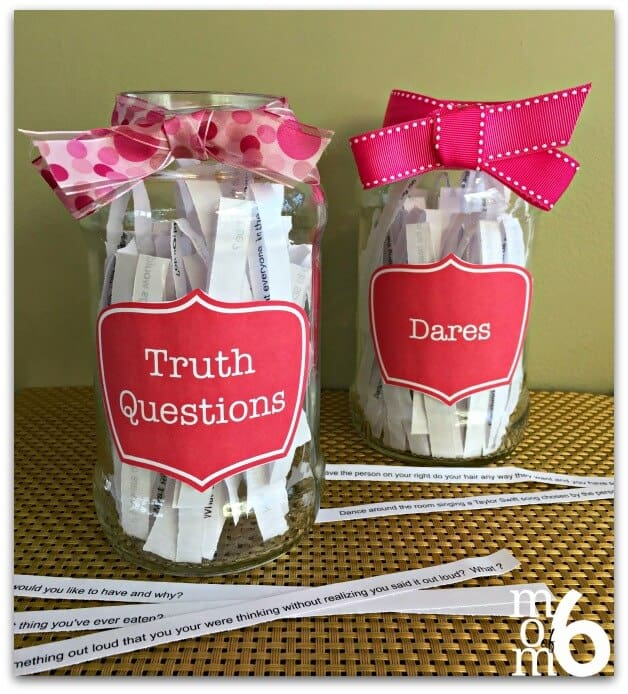 Birthday Party Activities Truth Or Dare Would You Rather Games