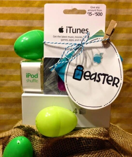 Easter basket- gift of music