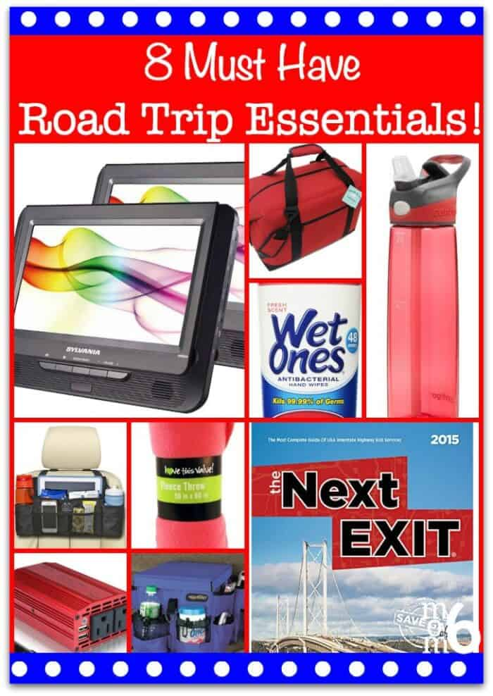 If your family loves to take road trips, here are 8 must-have road trip essentials! (From a Mom of 6 kids!) #RoadTripEssentials #FamilyRoadTrips #RoadTrip #RoadTripPlanning