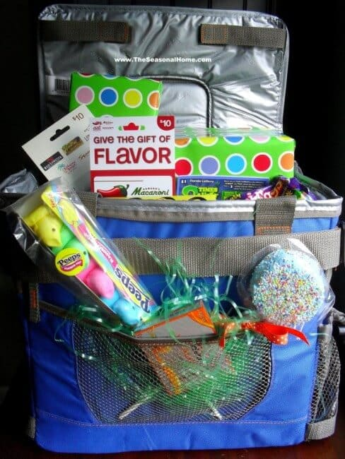 Easter basket idea: cooler or lunch bag