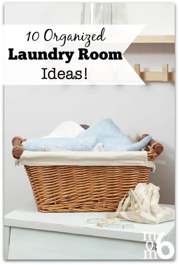 Here are 10 awesome organized laundry room ideas to organize this space in your home. And make it pretty too!