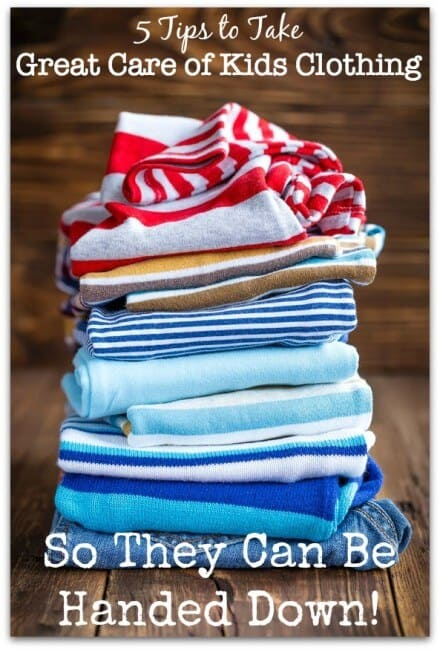 5 Tips to Take Great Care of Kids Clothing So They Can Be ...