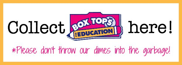 Box Tops Collection Box Label