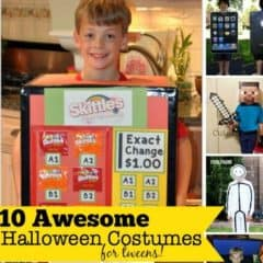 10 Awesome Halloween Costumes for Tweens You Can Make at Home!
