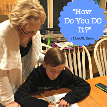 How Do You Help Kids With Homework? {When You Have So Many?!}