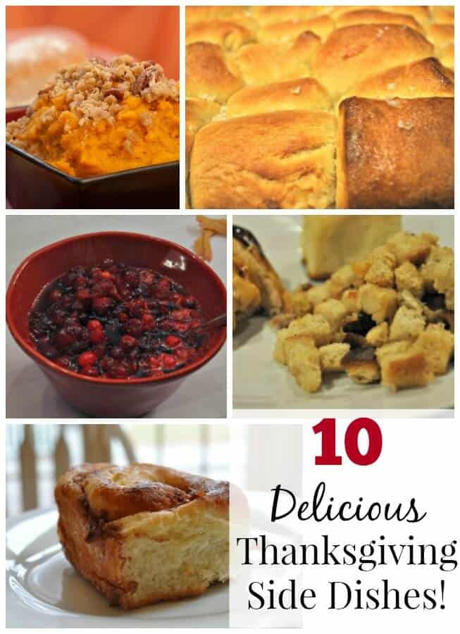 Personally, I love the Thanksgiving side dishes as much as the desserts! So here are a few of our family favorites, plus a few that we intend to try this year!