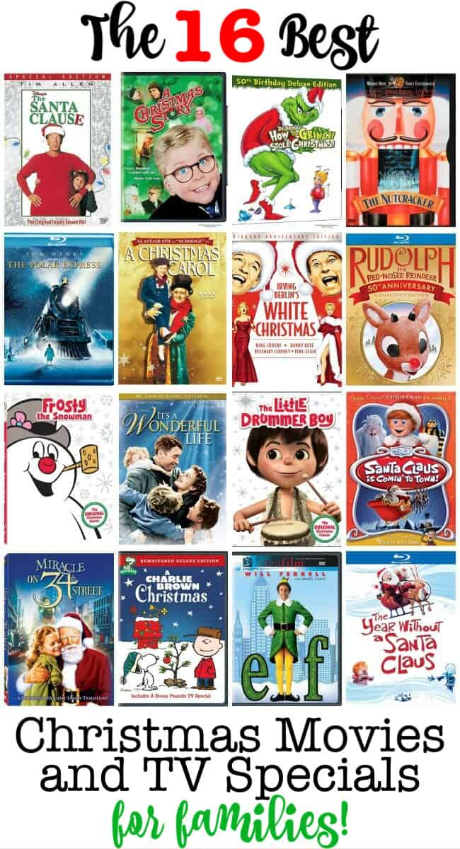 Do you like to watch the traditional Christmas TV specials and movies with your family? I Iove watching them so much that I actually schedule them on my family calendar so we don't miss a single one!​
