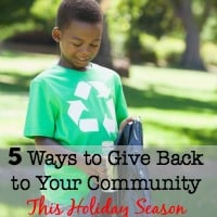 5 Ways to Give Back to Your Community This Holiday Season