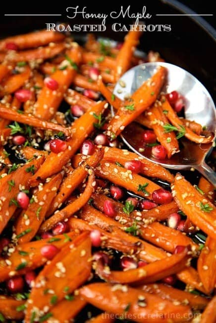 roasted carrots side dish