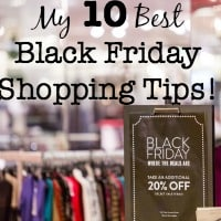 You have to have the right plan of attack to take advantage of Black Friday sales, keep your holiday spending under control, and get everything you want on your shopping list! Here are my 10 best Black Friday shopping tips!