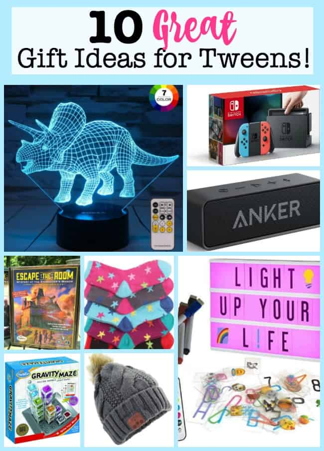 Like many of you, I have been working on finding the right gifts for my kids! Here are my top 10 picks for great gift ideas for tweens in 2018!