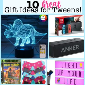 10 Great Gift Ideas for Tweens in 2018!