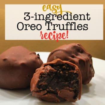 3-Ingredient Oreo Truffles Recipe