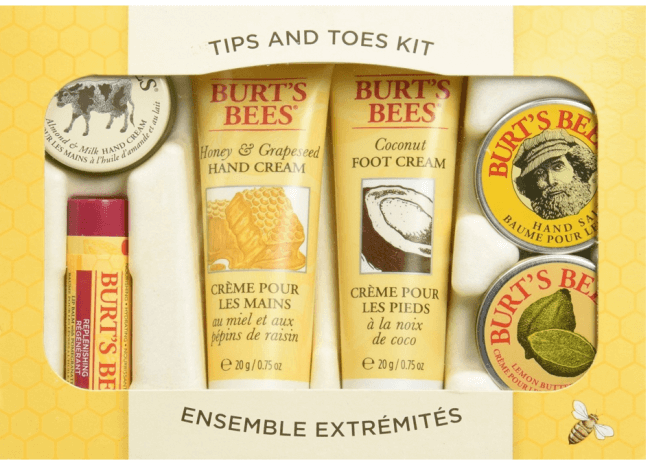 stocking stuffer ideas: Burts Bees gift set
