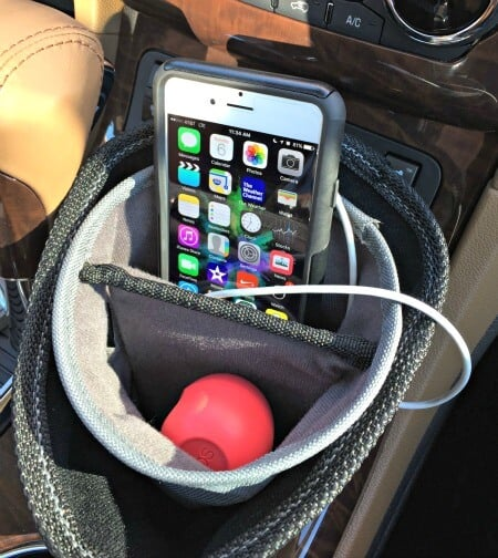 travel gifts: cup holder organizer