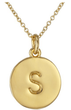 stocking stuffer ideas: initial pendant