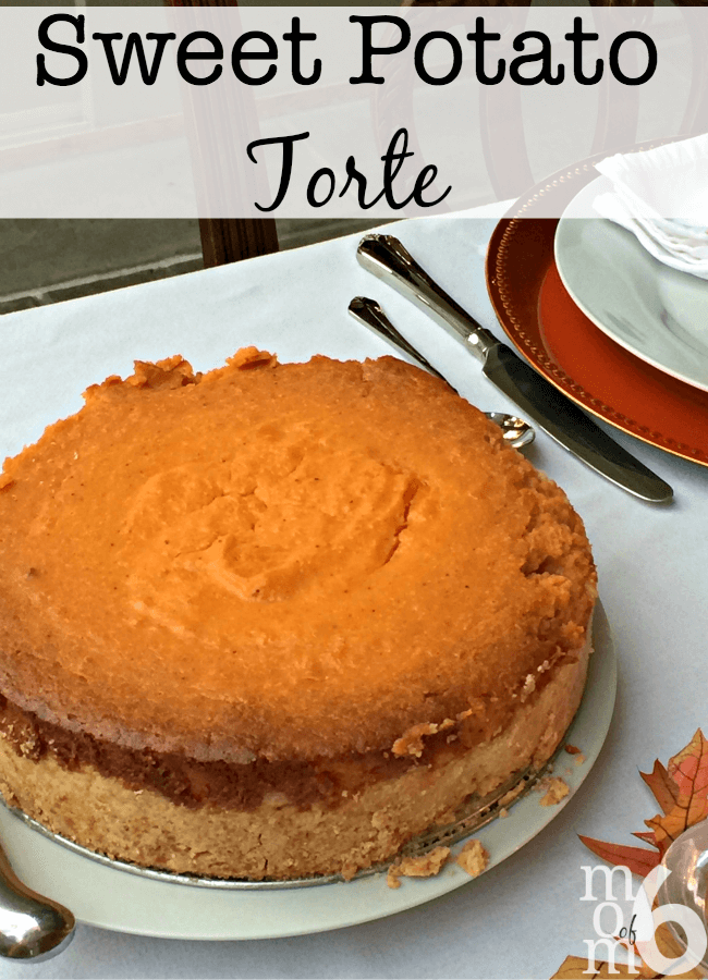 This sweet potato torte recipe is so good- it will have you asking if it is a side dish or is it a dessert? I promise you that this is one holiday dish that everyone will be talking about for a long time!