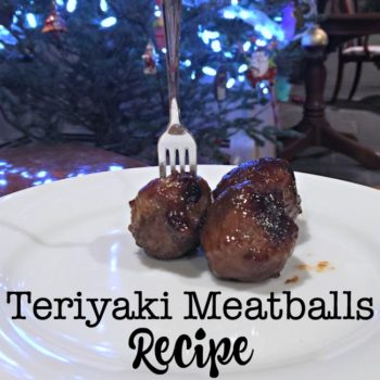 Teriyaki Meatballs Recipe