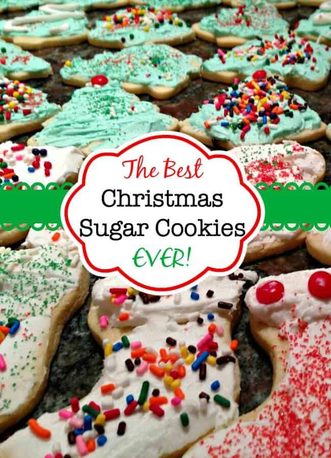 The Best Christmas Sugar Cookies Ever Momof6