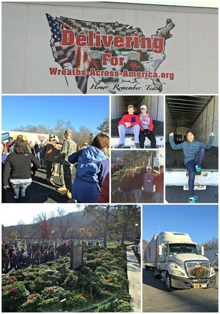 I want to share our experience here with you- and then give you some information on how you can be a part of Wreaths Across America events- either at Arlington National Cemetery or locally in your community.