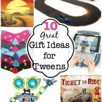 10 Great Gift Ideas for Tweens!