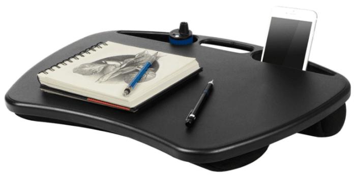 travel gifts: lap desk