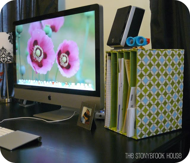 fabric mail organizer