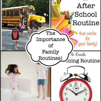 The Importance of Family Routines