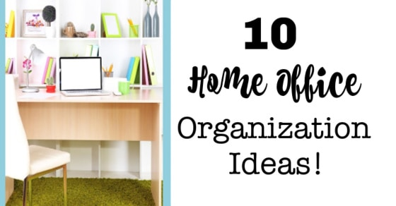 10 Home Office Organization Ideas!   MomOf6