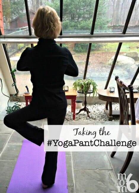 Taking the YogaPantChallenge