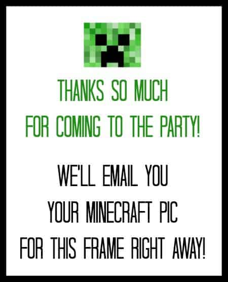 DIY Minecraft Party Favors (for Less Than $2!) - MomOf6