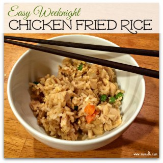 Easy Weeknight Chicken Fried Rice Recipe!