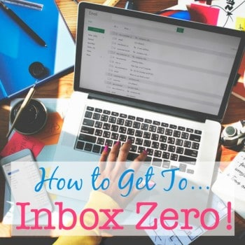 "Does looking at your email inbox make you feel as if you are on top of what you need to do, or does it make you feel overwhelmed? How would it feel to reach ""inbox zero""?"